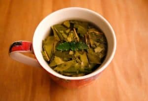 dafin leaf tea